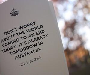 quote, australia, and text image