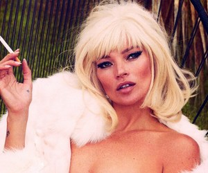 kate moss, miss moss, and blonde kate moss image