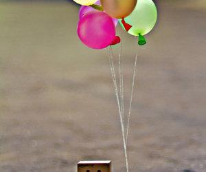 danbo and balloons image