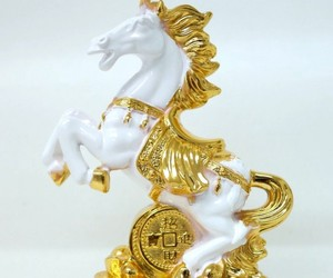 chinese new year gifts, year of the horse, and feng shui horse image