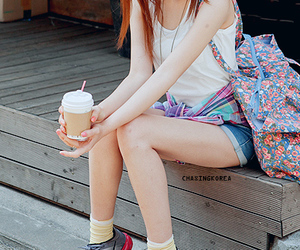 asian, bag, and pretty image