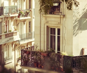 balcony, paris, and house image