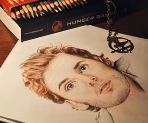 hunger games, finnick odair, and the hunger games image