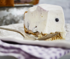 blueberry, cheesecake, and cream cheese image