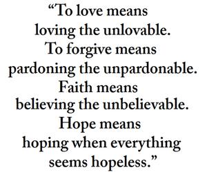 love, faith, and hope image