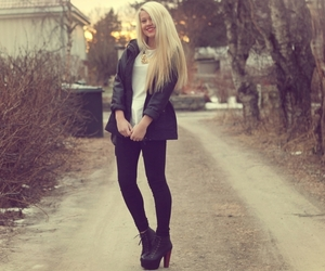 girl, fashion, and pretty image
