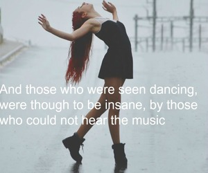 dance, poetry, and quotes image