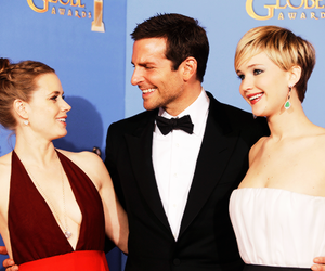 Amy Adams, Jennifer Lawrence, and bradley cooper image