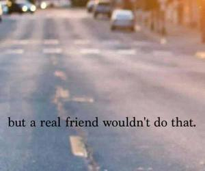 friends, quote, and sad image