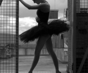 ballet, black, and EXCERCISE image