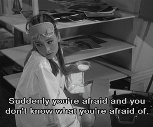 audrey hepburn, quotes, and Breakfast at Tiffany's image