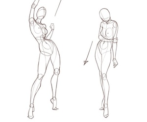 body and reference image
