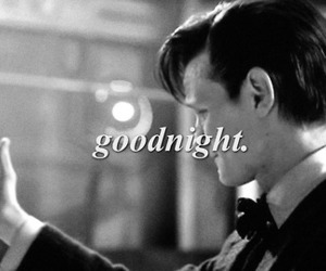 black and white, doctor who, and eleven image