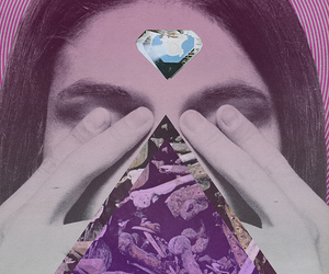 Collage and triangle image