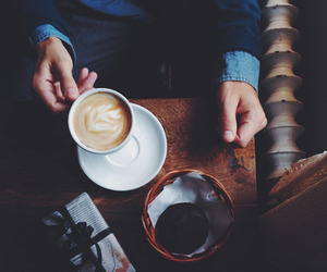 coffee, vintage, and hipster image