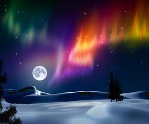 moon and winter image