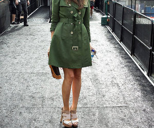 coat, outfir, and louise roe image
