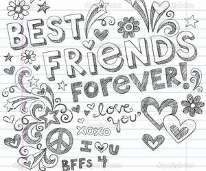 bff, friends, and best friends image