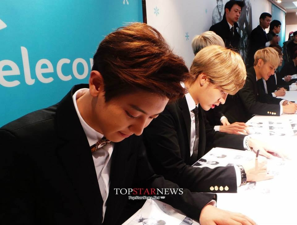 event, fansign, and exo image