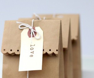 love, gift, and bag image