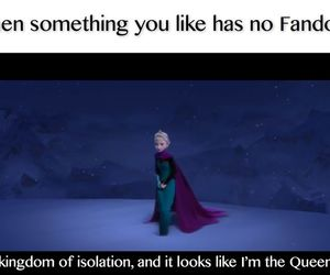 fandom, frozen, and funny image