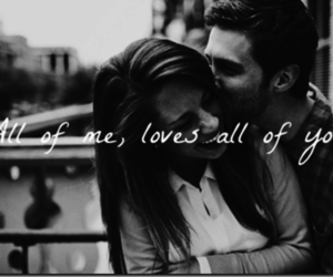 love, john legend, and all of me image