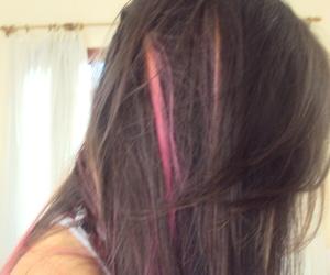 cabelo, rosa, and hair image