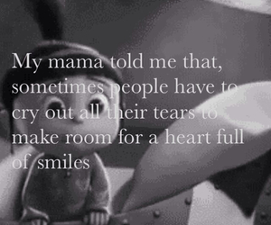 quotes, smile, and mama image