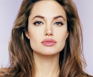 Angelina Jolie, lips, and beauty image