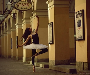 ballet and street image
