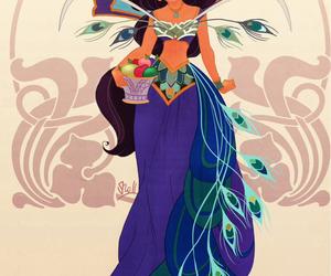 jasmine, disney, and aladdin image