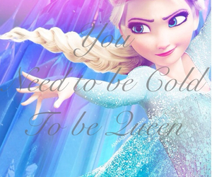 anna, frozen, and ice image