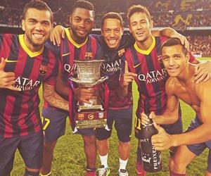 Barcelona, adriano, and neymar image