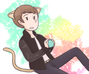 cat, sexy, and madeon image