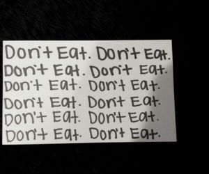 dont, eat, and skinny image