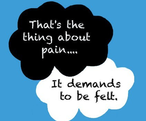 the fault in our stars, pain, and quotes image