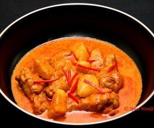 thai curry, eating, and thai food image