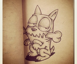 adorable, black, and drawing image
