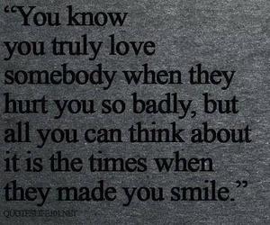 love, quote, and smile image