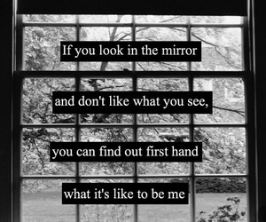 quote, my chemical romance, and sad image