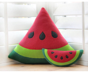 watermelon, pillow, and cute image