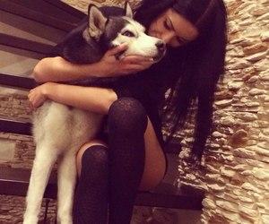girl, like, and pet image