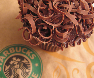 cup cake, food, and sweets image