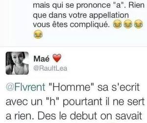 man, femme, and french image