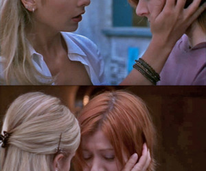 buffy, willow, and buffy the vampire slayer image