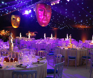 marquee, tent, and starlight image