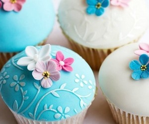adorable, photography, and cupcake image