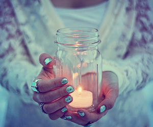 candle, photography, and light image