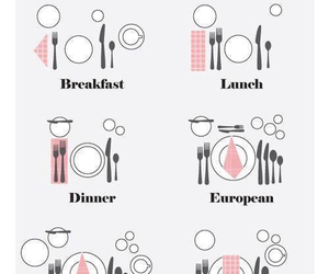 table and food image
