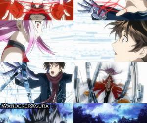 anime, guilty crown, and ouma shu image